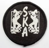 SKA - 'Rude Boys' Small Printed Patch